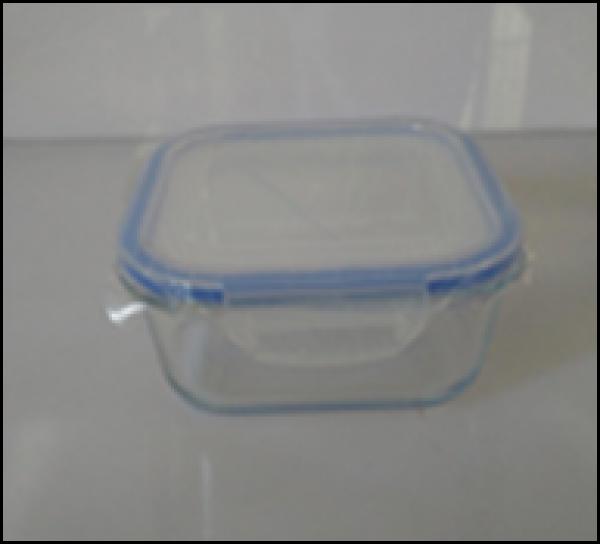 hộp thuỷ tinh thực phẩm vuông 750ml
