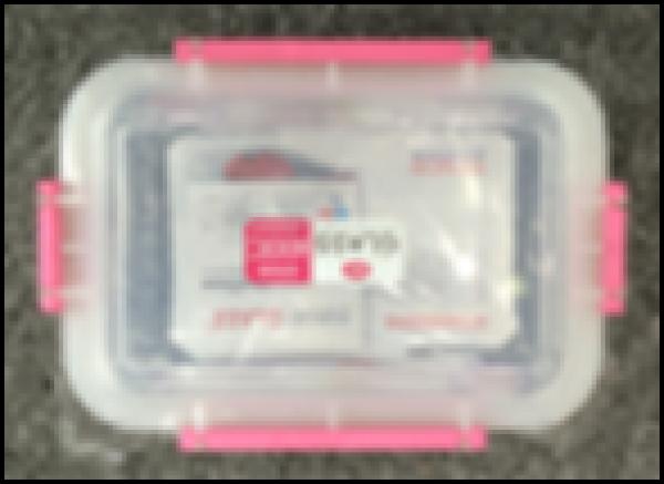 Hộp thuỷ tinh thực phẩm chữ nhật 550ml